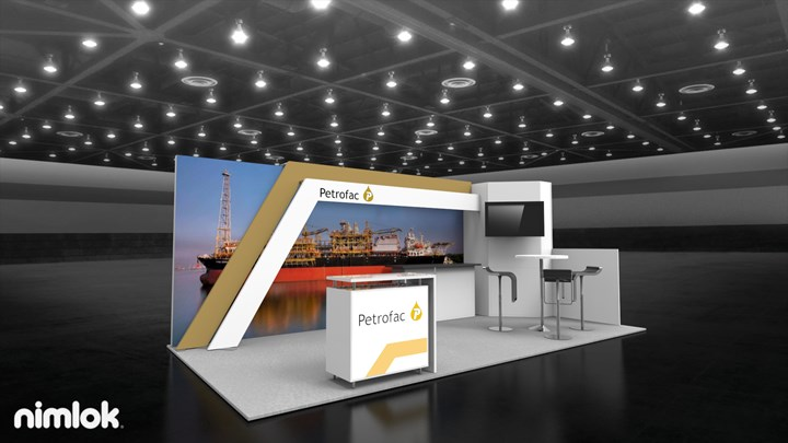 Petrofac - 10x20 - trade show exhibit