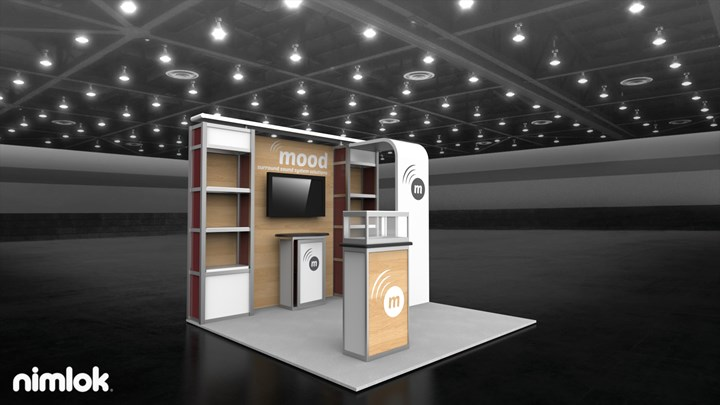 SONO TEK - 10x10 - trade show exhibit