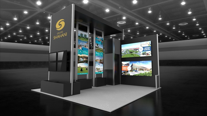 Shahani - 20x20 - trade show exhibit