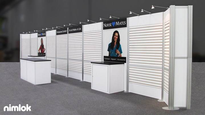 Nurse Mates - 10x40 - trade show exhibit