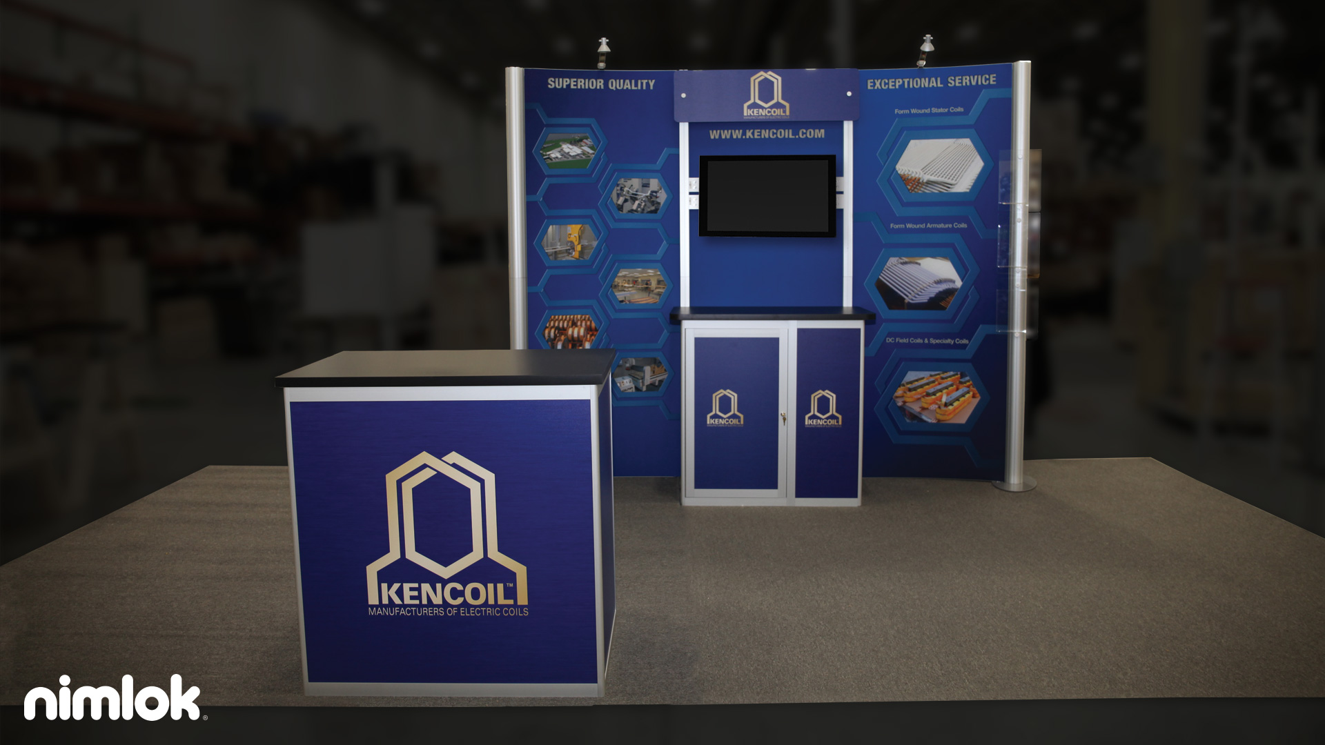 Kencoil - 10x10 - trade show exhibit
