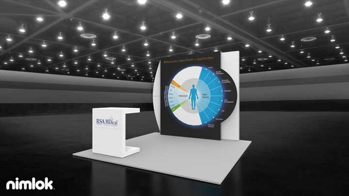 RSA Medical - 10x20 - trade show exhibit