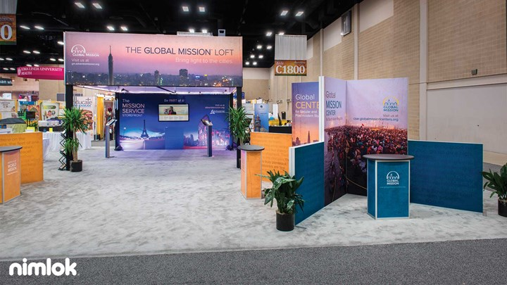 Adventist Mission - 40x50 - trade show exhibit