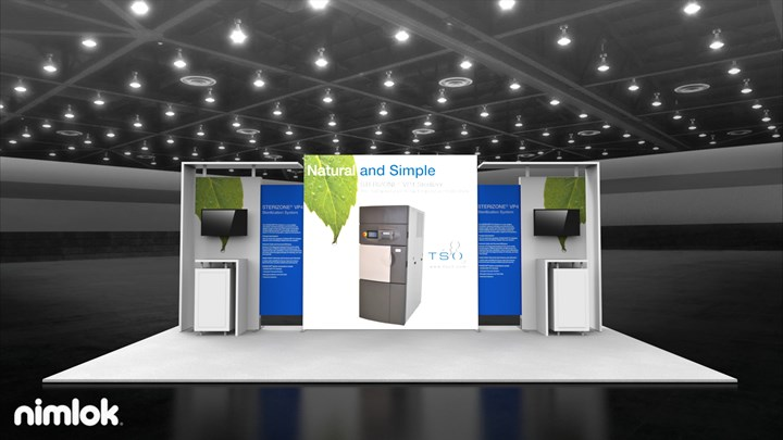 TSO3 - 10x20 - trade show exhibit