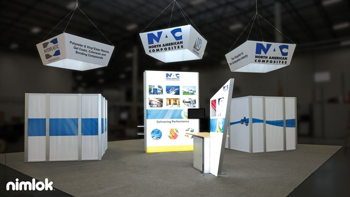 Interplastics - 40x40 - trade show exhibit