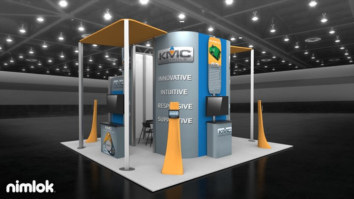 KMC Controls - 20x20 - trade show exhibit