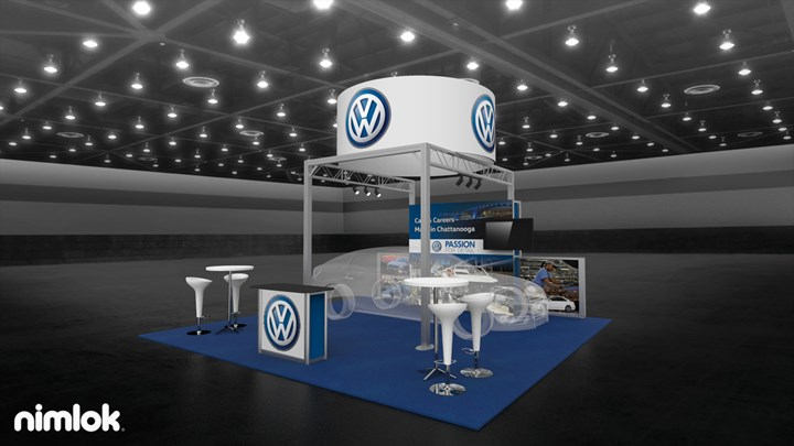 Volkswagen (VW) - 20x20 - trade show exhibit