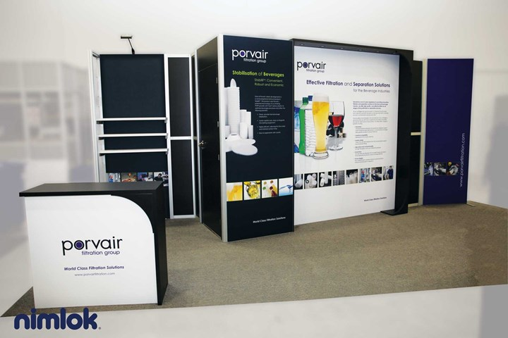 Porvair Group - 10x20 - trade show exhibit