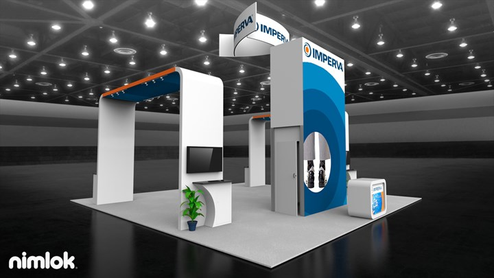 Imperva - 30x30 - trade show exhibit
