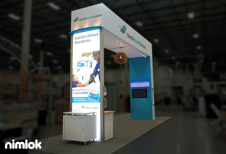 Nestle - 20x20 - trade show exhibit