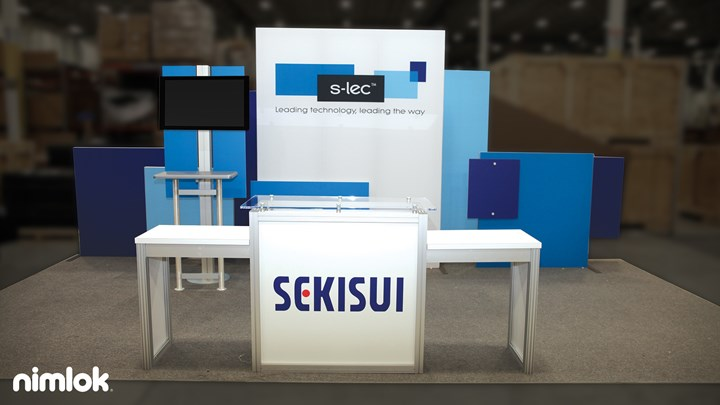 Sekisui - 10x20 - trade show exhibit