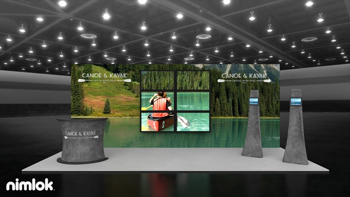 Canoe & Kayak - 10x20 - trade show exhibit