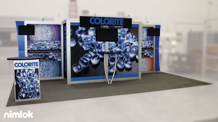 TekniPlex - 10x20 - trade show exhibit
