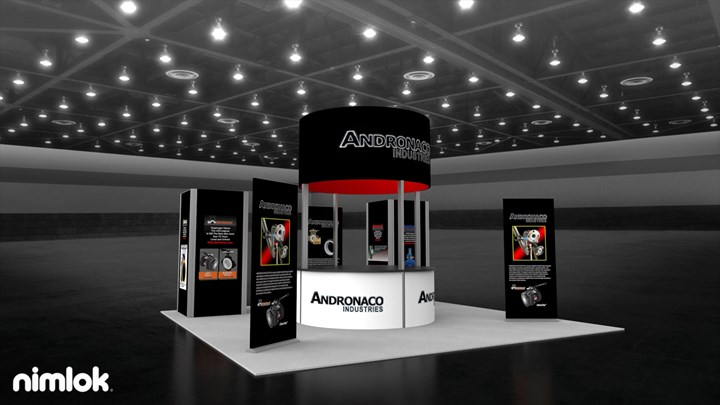 Andronaco Industries - 20x20 - trade show exhibit