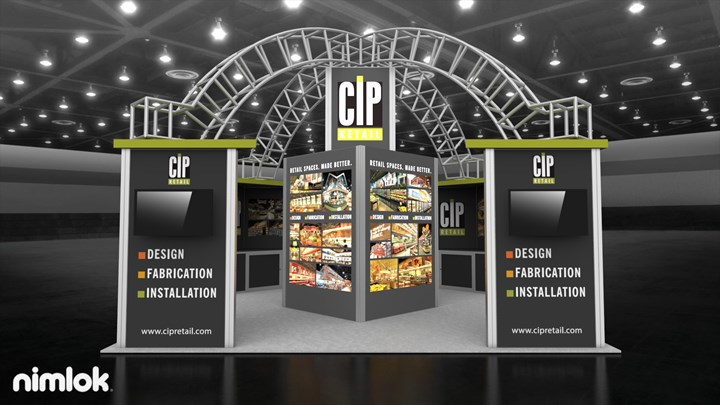 CIP - 20x20 - trade show exhibit