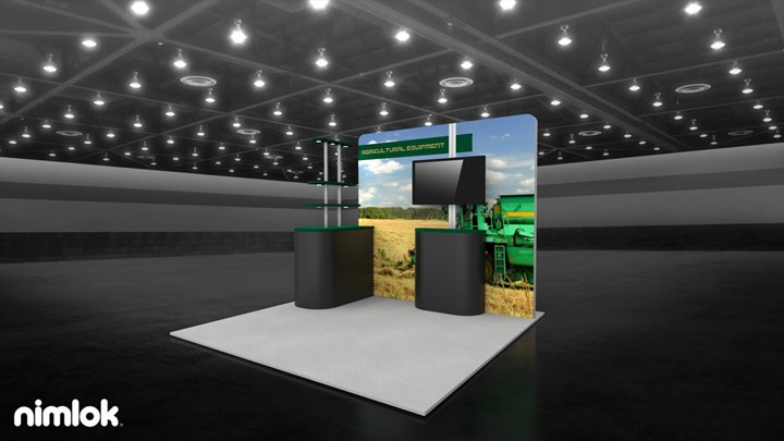 Agricultural Equipment - 10x30 - trade show exhibit