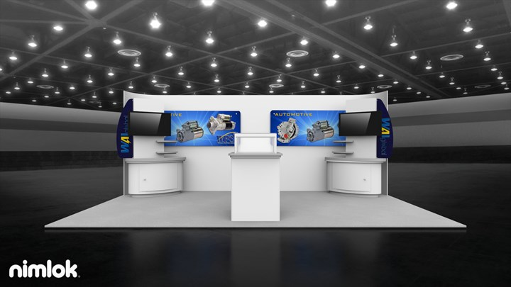 WAI Global - 20x50 - trade show exhibit