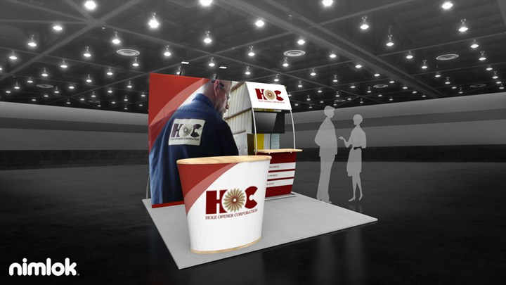 Holeopener - 10x10 - trade show exhibit
