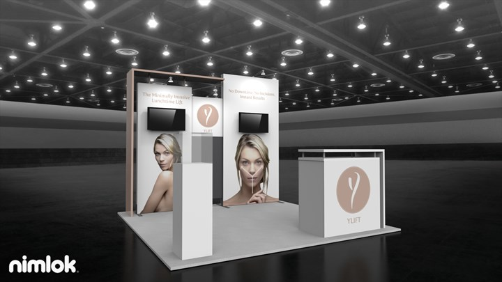 YLIFT - 10x10 - trade show exhibit