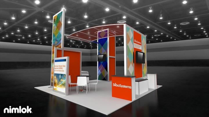 Stibo Systems - 20x20 - trade show exhibit
