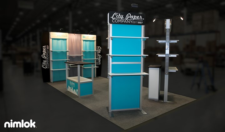 City Paper Company - 10x10 - trade show exhibit