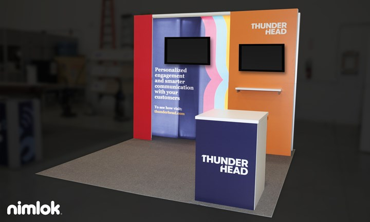 Thunderhead - 10x10 - trade show exhibit