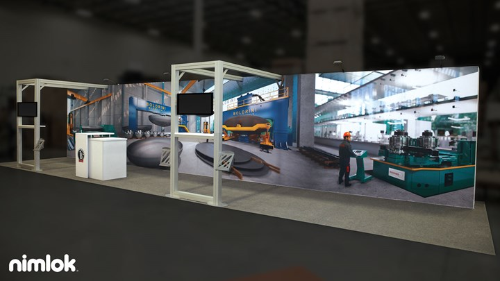 Boldrini - 20x20 - trade show exhibit