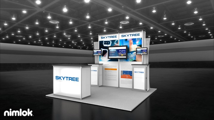 Skytree  - 10x20 - trade show exhibit