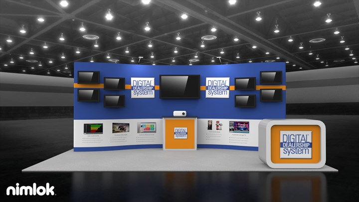 Digital Dealership Services - 10x20 - trade show exhibit