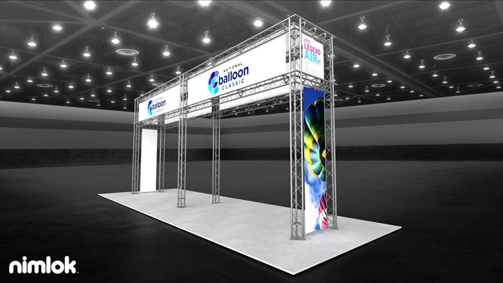 National Balloon Classic - 10x30 - trade show exhibit