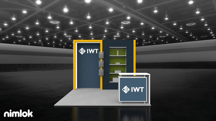 IWT Wireless - 10x20 - trade show exhibit