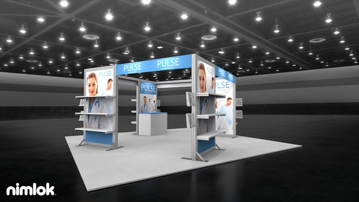 Pulse - 20x20 - trade show exhibit