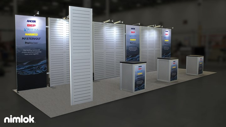 MV - 10x30 - trade show exhibit