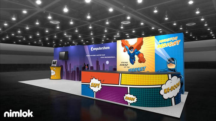 Computershare - 10x30 - trade show exhibit
