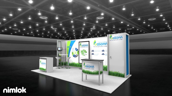 Aasonn - 10x20 - trade show exhibit