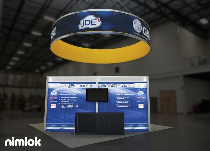 GSI - 20x20 - trade show exhibit