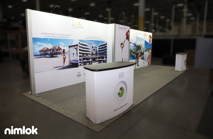 Karisma - 10x20 - trade show exhibit