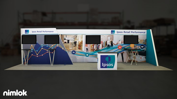 Ipsos Software - 10x30 - trade show exhibit