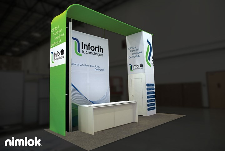Inforth - 20x20 - trade show exhibit