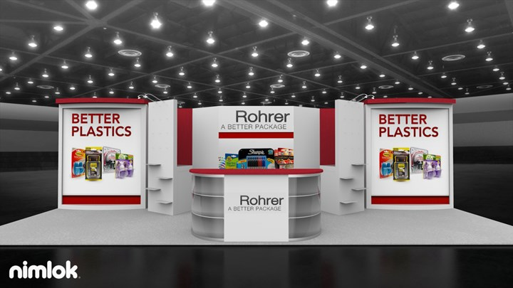 Rohrer Packaging - 20x30 - trade show exhibit