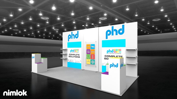PHD - 20x20 - trade show exhibit
