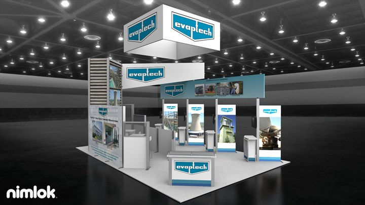 Evapco, Inc. - 20x30 - trade show exhibit