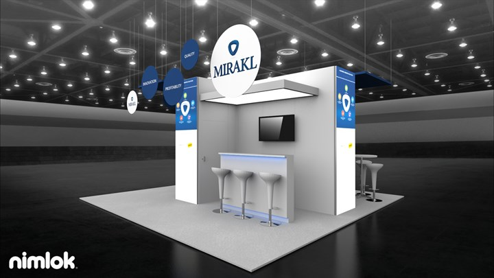 Mirakl - 20x20 - trade show exhibit