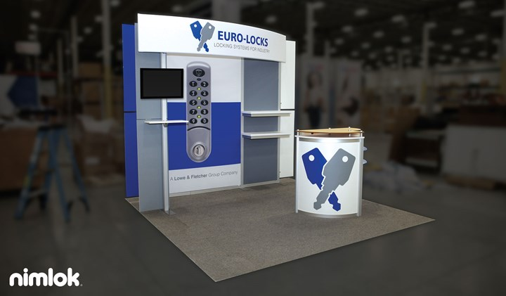Lowe & Fletcher - 10x10 - trade show exhibit