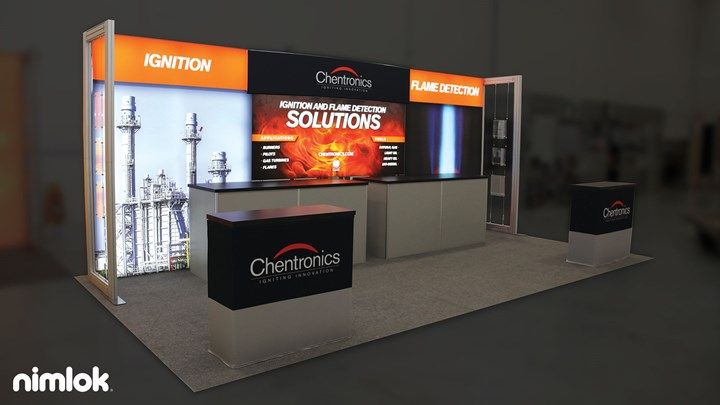 Chentronics - 10x20 - trade show exhibit