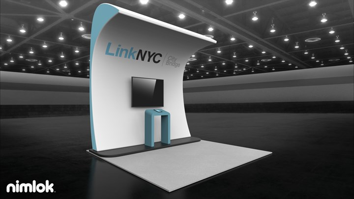 Link NYC - 10x10 - trade show exhibit