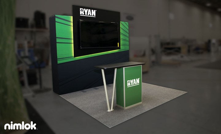 Ryan Companies - 10x10 - trade show exhibit