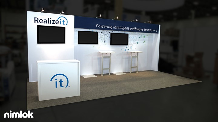 Realize IT - 10x20 - trade show exhibit