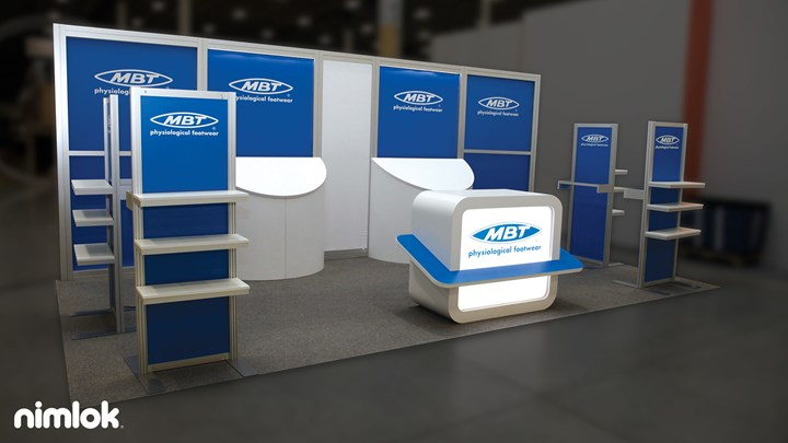 MBT Footwear - 10x20 - trade show exhibit