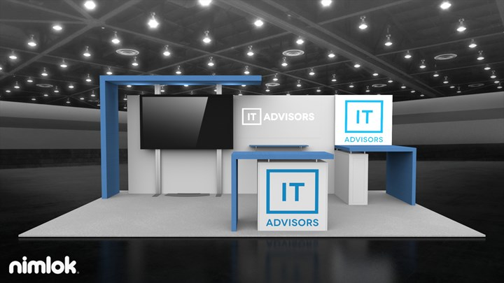 IT Advisors - 10x20 - trade show exhibit